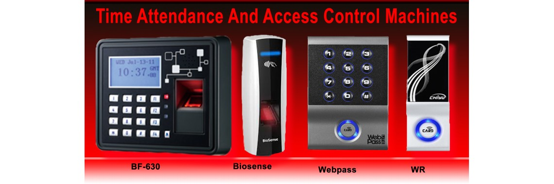 Time Attendance And Access Control Machines