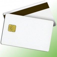 White Magnetic Smart Cards 0.76 mm