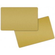 Gold Blank Cards 0.76 mm