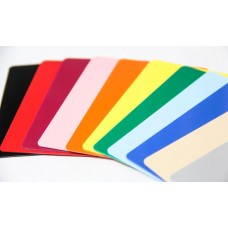 Colored Blank Cards