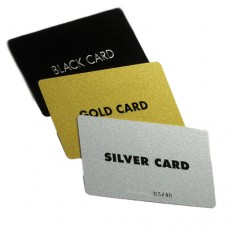 Silver/Gold/Black Cards